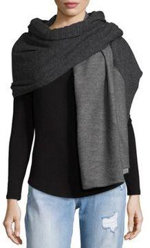 Donni Charm Sweatshirt Diagonal Scarf