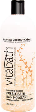 Vitabath Heavenly Coconut Creme Bubble Bath