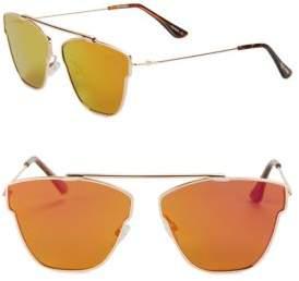 Steve Madden 63MM Square Sunglasses