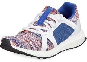 adidas by Stella McCartney Ultra Boost Knit Trainer Sneaker, Blue/White