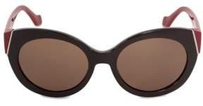 Balenciaga Oval Sunglasses Ba0091 48e 58.