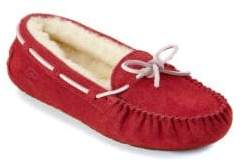 UGG Kid's Dakota Suede Slippers