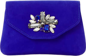 Dune Bandie brooch-detail clutch bag