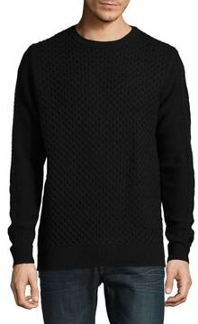Karl Lagerfeld Textured Pullover Sweater