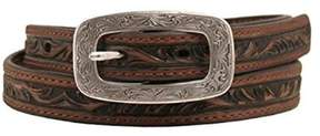 Ariat A1515602-S 0.75 in. Womens Embossed Belt, Brown - Small