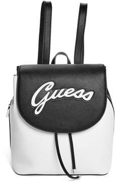 GUESS Varsity Pop Pin-Up Backpack