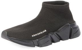 Balenciaga Low Knit Platform Trainer Sneaker