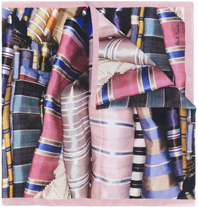 Paul Smith fabric print scarf