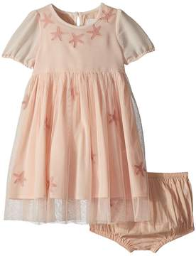 Stella McCartney Maria Star Patched Tulle Dress Girl's Dress