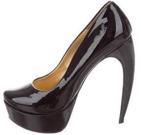 Walter Steiger Patent Leather Platform Pumps