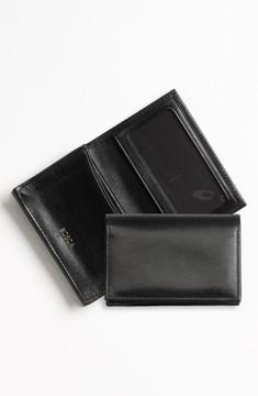 Bosca Men's 'Old Leather' Gusset Wallet - Black
