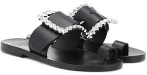 Maison Margiela Embellished leather sandals