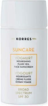 Korres Suncare Yoghurt Nourishing Fluid Veil Face Sunscreen Spf 30