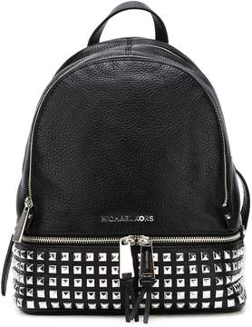 MICHAEL Michael Kors Rhea Zip Studded Leather Backpack