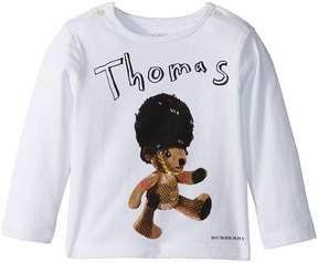 Burberry Thomas Bear New Bear Print Tee Boy's T Shirt