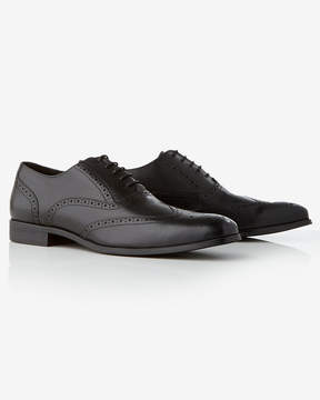 Express Leather Wingtip Oxford