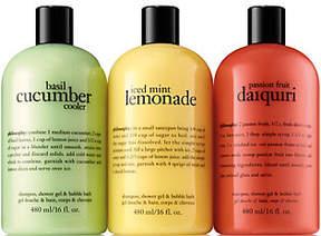 philosophy Summer Coolers Shower Gel Trio
