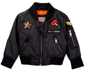 Urban Republic Bomber Jacket (Baby Girls)