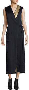 Each X Other Women's Blazer Wrap Dress