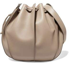 Jil Sander Pinch Textured-Leather Bucket Bag