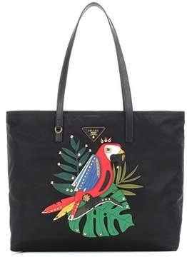 Prada Embellished shopper