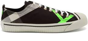 Burberry Bourne low-top canvas trainers