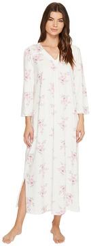 Carole Hochman 3/4 Sleeve Gown Women's Pajama