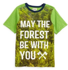 Hatley Boy's May The Forest Be With You T-Shirt