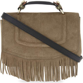 Maje Fringed shoulder bag