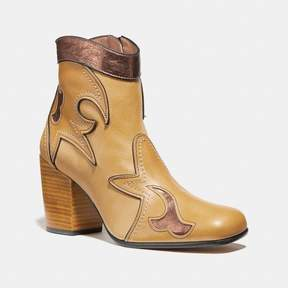Coach New YorkCoach Western Bootie With Burnish