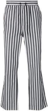 Ami Alexandre Mattiussi elastized carrot fit trousers