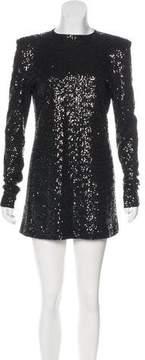 Alexandre Vauthier Sequined Mini Dress