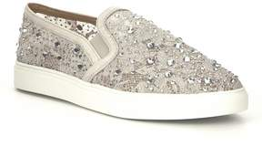 Antonio Melani Garner Lace Stone Embellished Slip-On Sneakers