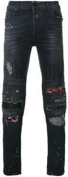 Marcelo Burlon County of Milan Ain biker jeans