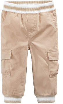 First Impressions Cargo Jogger Pants, Baby Boys, Created for Macy's