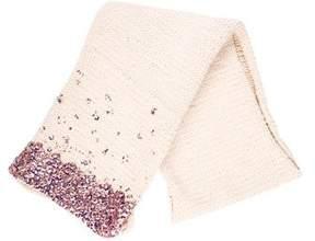 Dries Van Noten Wool Knit Scarf