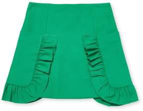 Marni Ruffled Wool-Blend Skirt