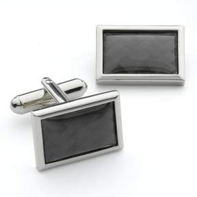 Apt. 9 Block-Center Square Cuff Links