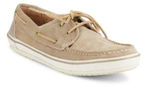 John Varvatos Redding Leather Boat Shoes