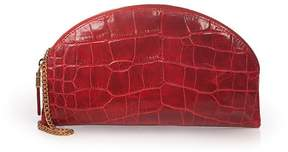 Eric Javits | Leather Croissant | Red