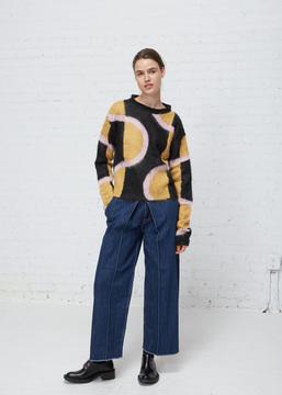 Aalto Multicolored Mohair Pullover