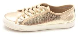 Bebe Womens Dane Fabric Low Top Lace Up Fashion Sneakers.