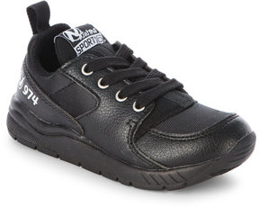 Naturino Toddler/Kids Boys) Black Runner Sneakers