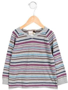 Ikks Boys' Striped Long Sleeve Sweater