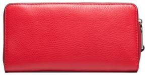 Marc Jacobs Women's Leather 'Pyt' Continental Wallet Red