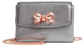 Ted Baker Lupiin Metallic Leather Crossbody Bag