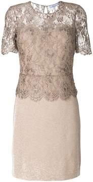 Blumarine lace bodice dress