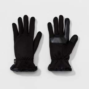 Isotoner Women's smarTouch® Heathered Stretch Glove w/ Spill and Side Vent - Black