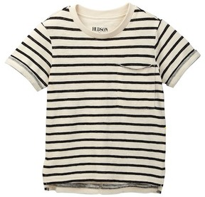 Hudson Slub Jersey Pocket Tee (Toddler & Little Boys)