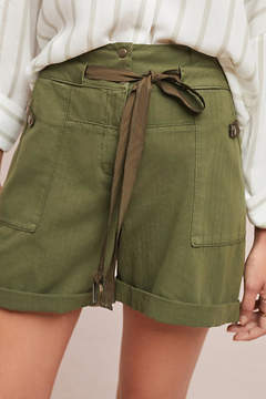 Anthropologie Utility High-Waisted Shorts